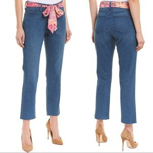 NWT NYDJ Sheri Yucca Valley Ankle Crop Jeans